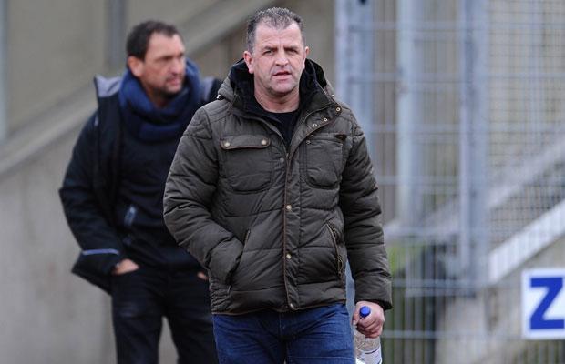 Franz Wunderlich (vorne) hat von Coach Claus-Dieter Wollitz neue Impulse bekommen. Foto: IMAGO