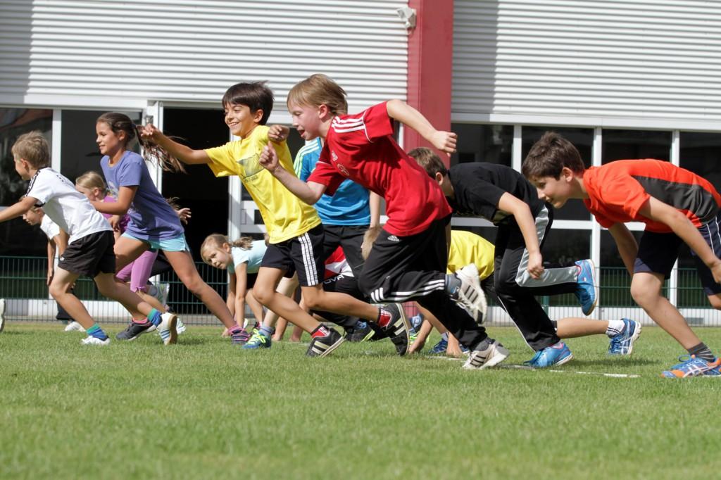 Mehr Bewegung für mehr Kinder ist das Ziel an Leverkusener Grundschulen Foto: SportBund Leverkusen