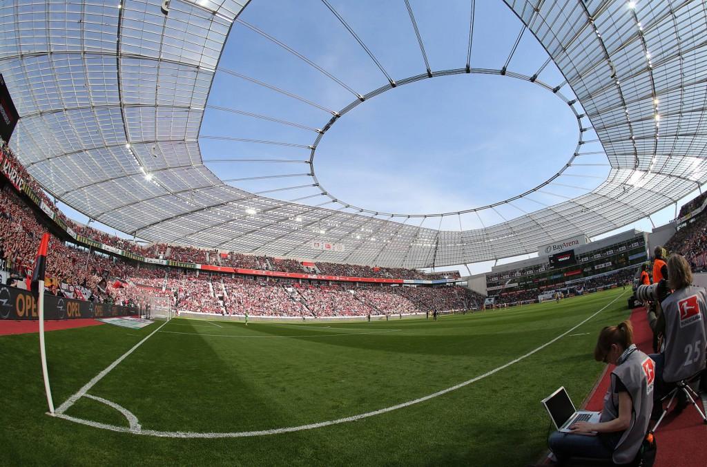 Die Bay Arena war in der Champions League Schauplatz europäischen Spitzenfußballs Foto: IMAGO