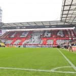 Die Choreographie der FC-Fans vor dem Spiel Foto: IMAGO
