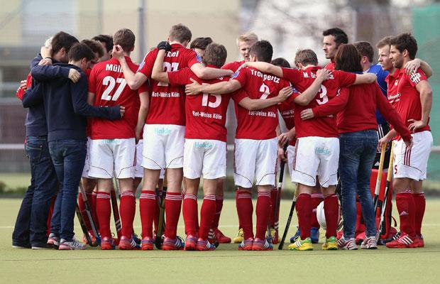 Zusammen zum Titel: Rot-Weiß Köln steht in der Endrunde um die deutsche Hockeymeisterschaft Foto: Imago