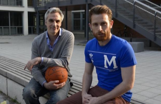 Stephan Baeck (l.) stand Köln.Sportler Thomas Werner für ein exklusives Interview zur Verfügung. Quelle: Köln.Sport