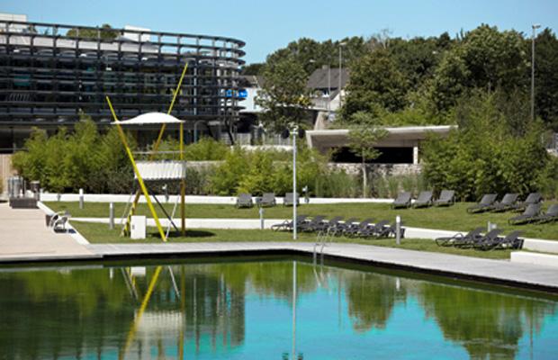 Am Samstag (17. Mai) wird der Außenbereich des Lentparks für Schwimmer geöffnet. Foto: KölnBäder