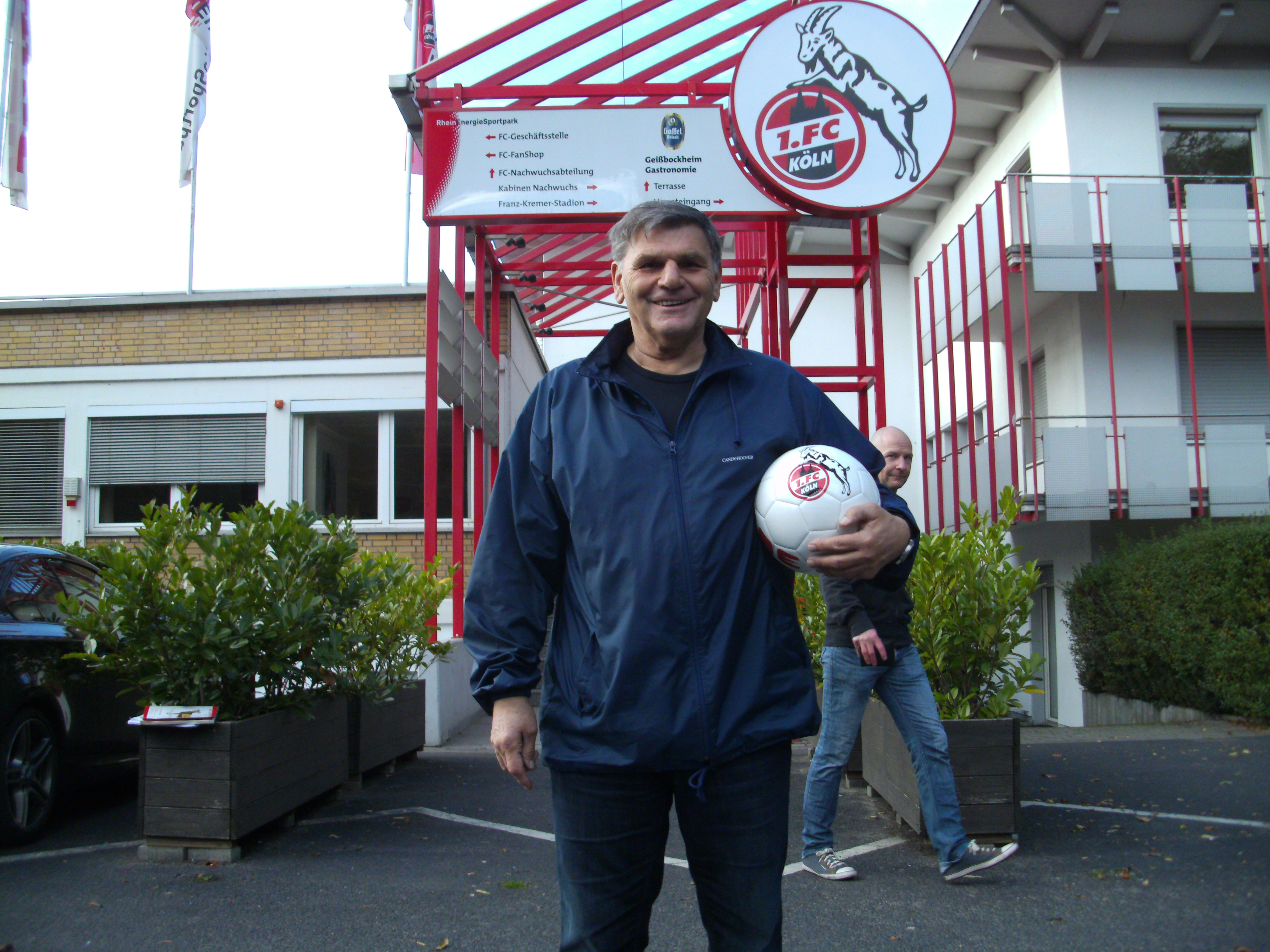 Wolfgang Weber feiert runden Geburtstag. Bei den FC-Fans ist der Porzer noch immer sehr beliebt. Foto: Köln.Sport