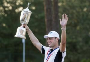 Martin Kaymer gewann Mitte Juni als erster Deutscher die US-Open und zählt auch in Pulheim zu den Favoriten Foto: IMAGO