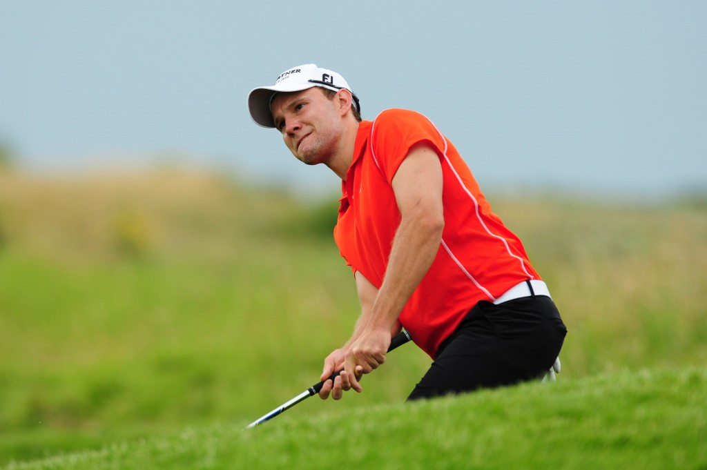 European Tour-Spieler Maximilian Kieffer war für seinen Heimatclub GC Hubbelrath in Frankfurt am Start Foto: golfsupport.nl
