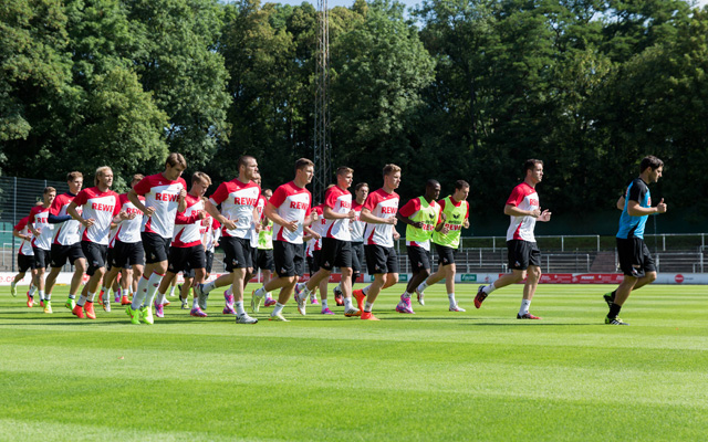 Heiß auf den Start: Der FC will sich in der Bundesliga etablieren. Foto: IMAGO