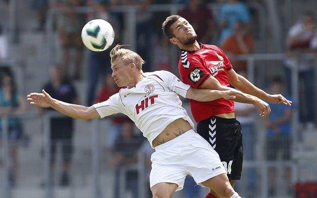 Auch der Einsatz von Michael Kessel (l.) brachte für Fortuna nicht den erhofften Erfolg. Foto: IMAGO/Avanti