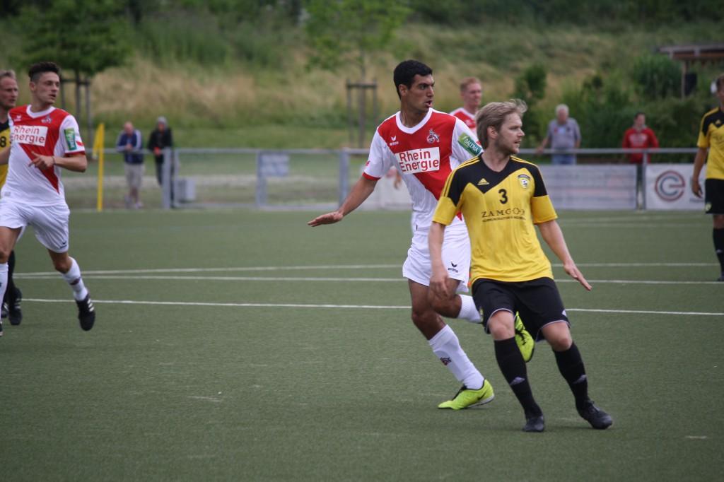 FC-Neuzugang Philippe Paoli darf sich noch nicht in den Vordergrund spielen Foto: Köln.Sport