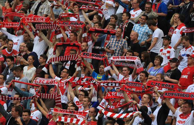 Der FC-Anhang gab sich bei der Saisoneröffnungsparty gewohnt stimmungsvoll. Foto: IMAGO