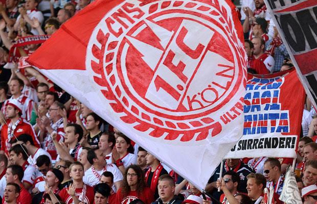 Auch Fangruppen des 1. FC Köln sind an der Ausstellung beteiligt. Foto: IMAGO/Buthmann