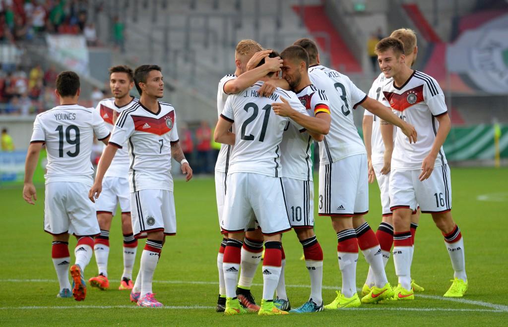 Die deutsche U21 war ebenso siegreich wie die U19-Auswahl im Sportpark Höhenberg. Foto: pa/dpa