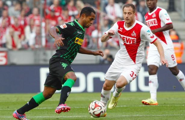 Der 1. FC Köln und Borussia Mönchengladbach trennen sich im Derby 0:0. Foto: dpa/pa