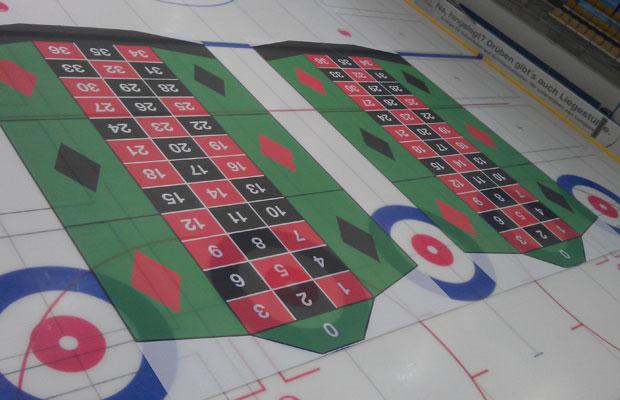 Spielen und gewinnen: Eis-Roulette im Lentpark. Foto: KölnBäder