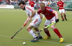 Mats Grambusch sorgte mit seinem Treffer für den Sieg der Rot-Weiß-Herren.  Foto: IMAGO/Zink