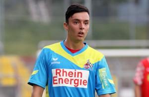 Schoss die U21 des 1. FC Köln beim VfL Bochum II in Führung: Vojno Jesic Foto: imago/Otto Krschak