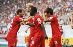 Am 7. Spieltag bestreitet der FC das Top-Spiel am Samstagabend bei Eintracht Frankfurt Foto: IMAGO/Eibner