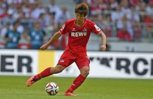 Einsatz in Paderborn noch offen: FC-Angreifer Yuya Osako Foto: imago/MIS