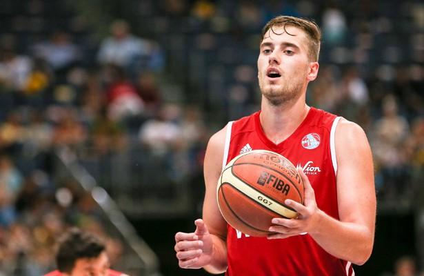 Gytis Pakalniskis war mit 23 Punkten Top-Scorer der RheinStars.  Foto: IMAGO/Beautiful Sports