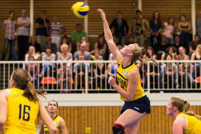 Doppelerfolg für kölsche Volleyballerinnen: DSHS Snowtrex zieht ins WVV-Pokalfinale ein Foto: Martin Miseré