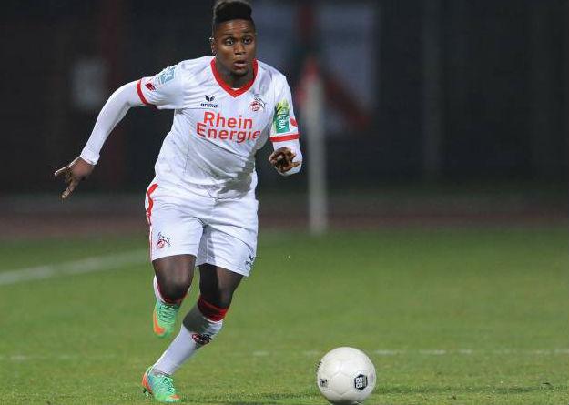 Budimbu sorgt mit seinem Last-Minute Treffer für den Ausgleich. Foto: IMAGO / Revierreport