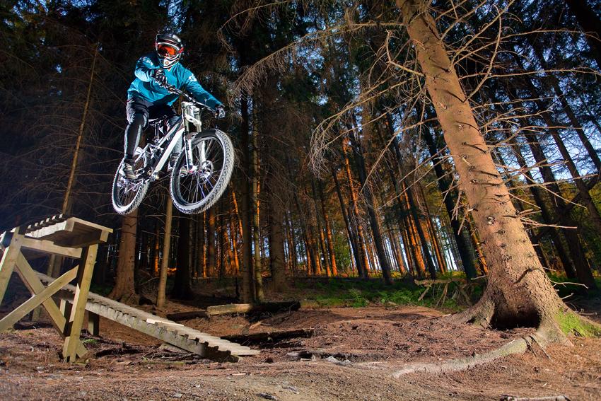 mountainbike drop