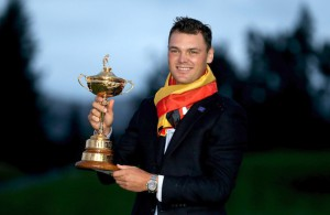 Teil des erfolgreichen Ryder-Cup-Teams der Europäer: Deutschlands Golfstar Martin Kaymer Foto: imago/GEPA Pictures