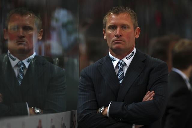 Zum Einstand gleich zwei Niederlagen: Haie-Coach Niklas Sundblad