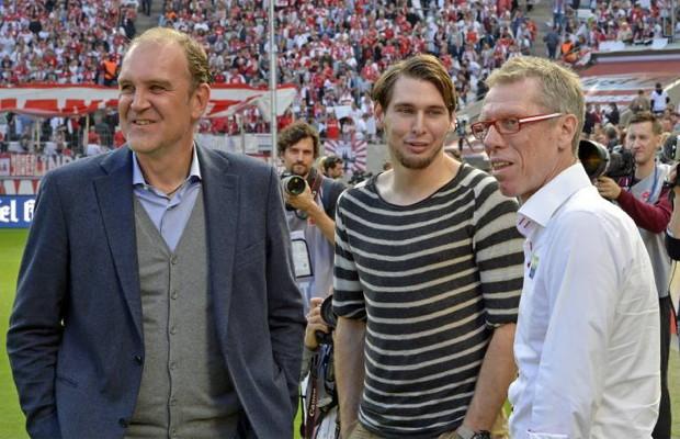 Manager Jörg Schmadtke: Muss sich im Falle eines noch längeren Ausfalls von Stürmer Patrick Helmes, Gedanken über Neuzugänge machen. Foto: imago / MIS