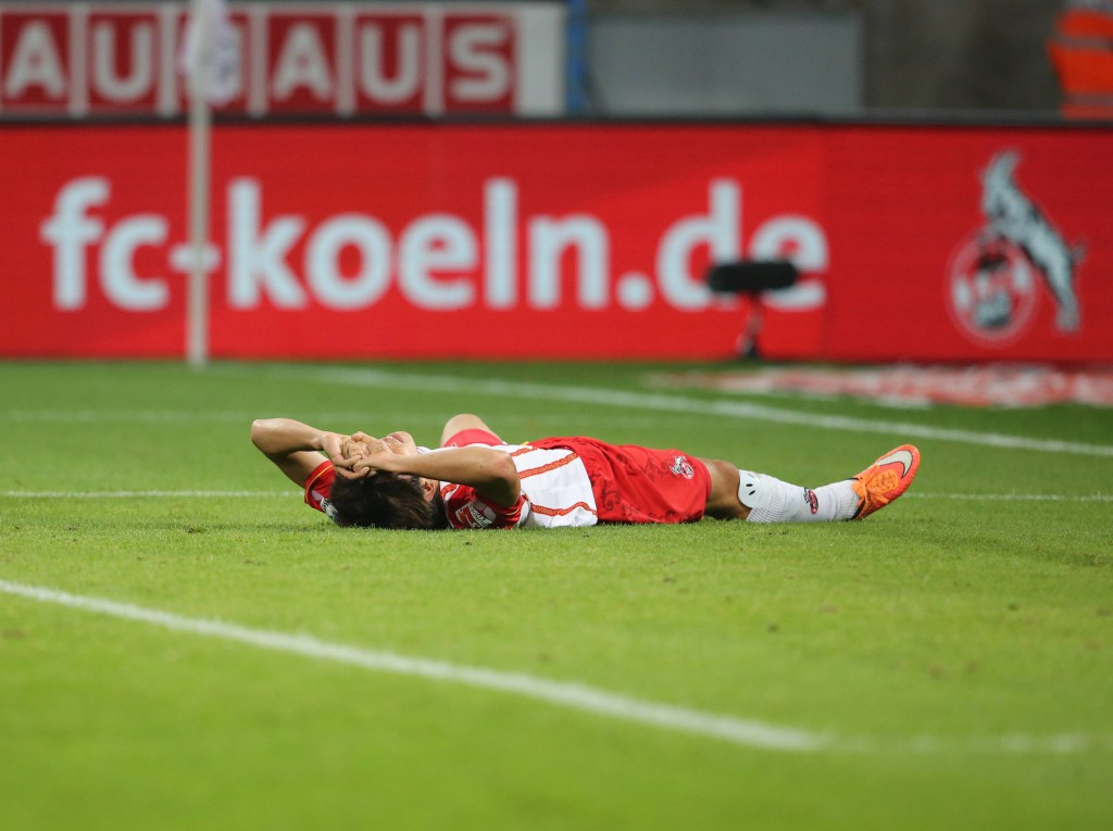 Zum Vergraben: Die Leistung des 1. FC Köln war miserabel, doch einige Fans unterboten das noch. Foto: imago/Chai v.d. Laage