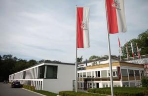 Einst Schmuckstück, nun Sanierungsfall: das Geißbockheim, die Heimat des 1. FC Köln Foto: pa/Rolf Vennenbernd