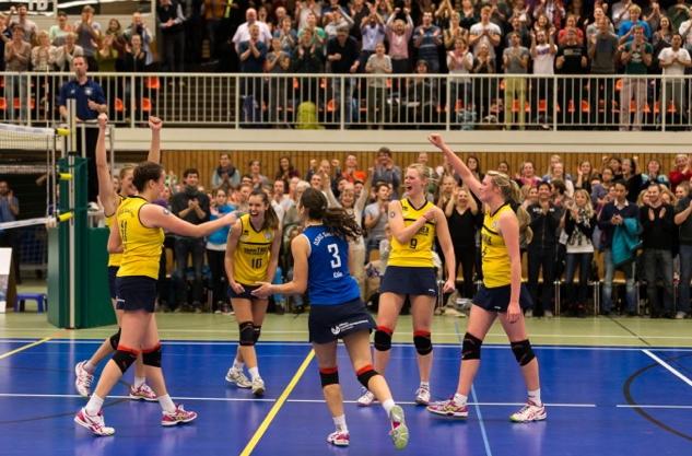 Wollen sich in ihrem letzten Heimspiel des Jahres von ihrer besten Seite zeigen: die Volleyballerinnen der SnowTrex. Foto: Martin Miseré
