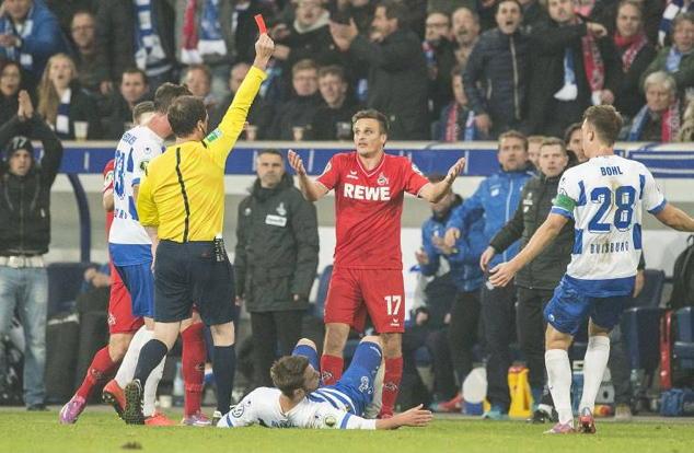 Vom DFB-Sportgericht für drei Spiele gesperrt: FC-Profi Slawomir Peszko. Foto: imago/Sven Simon