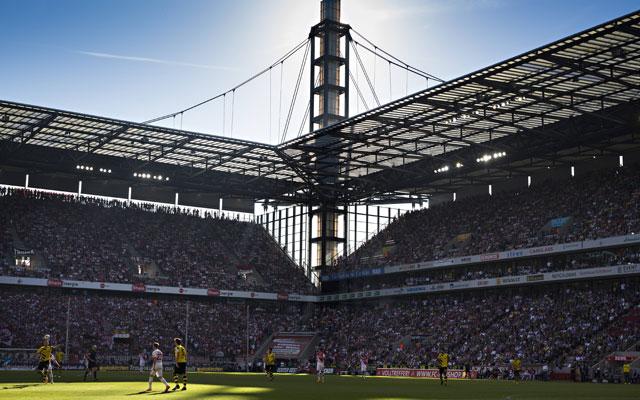 Das RhienEnergieStadion bietet Platz für 50.000 Besucher. Foto: imago/Moritz Müller