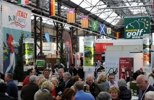 Die Messe wird wieder zum Treffpunkt für Golf-Anbieter und -Publikum. Foto: Rheingolf