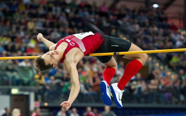 Raul Spank geht mit einer Bestleistung von 2,33 Metern ins Rennen. Foto: imago/Annegret Hilse
