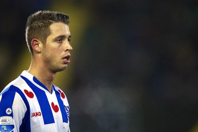 War früher in der Jugend für den FC aktiv: Heerenveens Angreifer Mark Uth Foto: imago/VI Images