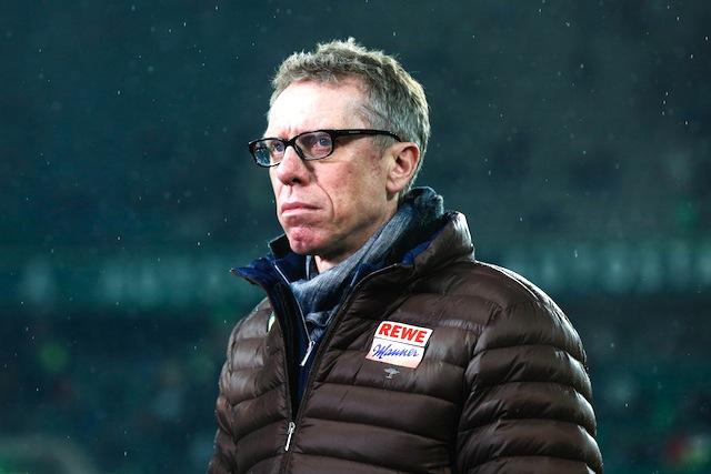Ist mit dem Resultat des Trainingslagers in Orland sehr zufrieden: FC-Trainer Peter Stöger Foto: imago/Christian Schroedter