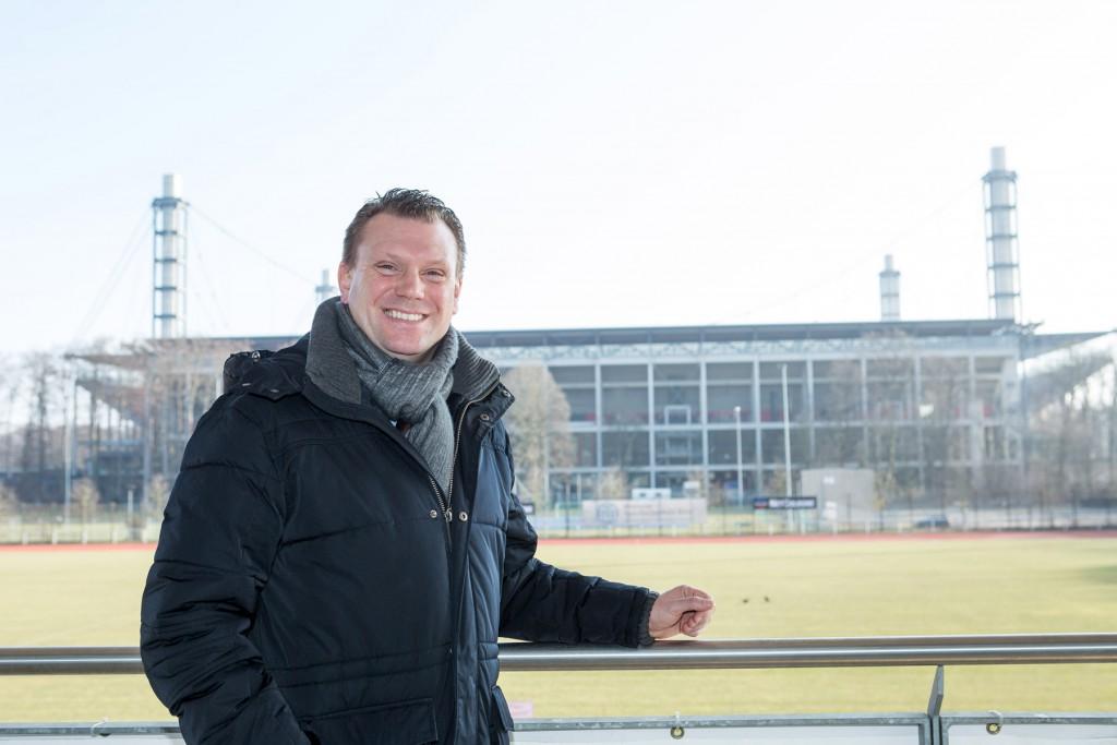 Fortuna-Trainer Uwe Koschinat spricht im Köln.Sport-Interview über den Trainerjob, Ausbildung und natürlich den SC Fortuna Köln. Fotos: Ben Horn