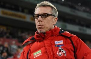 Geht mit großer Vorfreude in das Duell mit dem deutschen Rekordmeister: FC-Trainer Peter Stöger. Foto: imago/Revierfoto