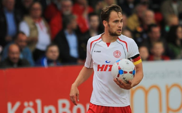 Gerüchten zufolge steht Verteidiger Sebastian Zinke von Fortuna Köln zu einem Wechsel zur U21 des 1. FC Köln. Foto: imago/Manngold