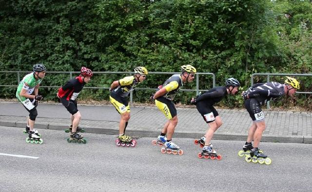 Das Inline-Skating-Rennen kehrt wieder in den Wettkampf des Cologne Classic zurück. Foto: imago/Pressefoto Baumann