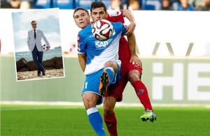 Im Hinspiel gewannen Jonas Hecotr (hinten) und der 1. FC Köln 4:3 bei 1899 Hoffenheim Fotos: imago/Sportnah, PR (Montage: Köln.Sport)