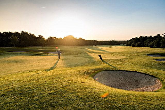 Austragungsort der Deutschen Golf-Meisterschaften 2015: Der Golfclub Am Alten Fliess Foto: GC Am Alten Fliess