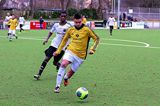 Muss demnächst in der Kreisliga antreten: Der SC West Köln Foto: Ben Horn