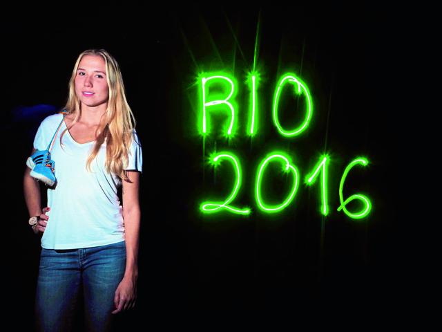 Alexandra Plazas großes Ziel: Die Olympischen Spiele 2016 in Rio de Janeiro Foto: Horst Fadel