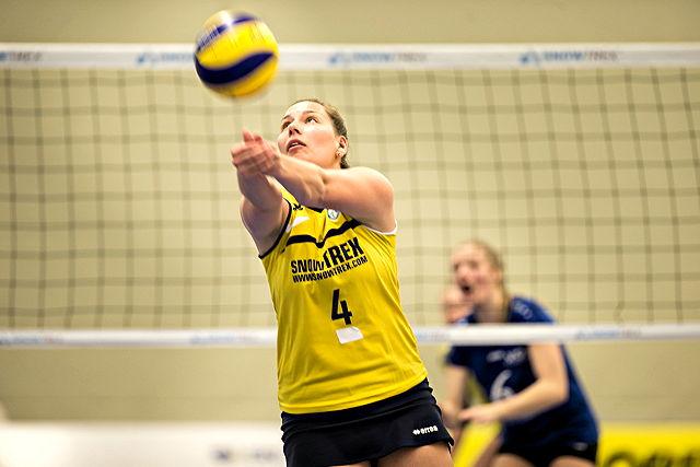 Absolvierte ihr letztes Spiel im Trikot des Teams DSHS SnowTrex Köln: Zuspielerin Mareike Südmersen  Foto: Martin Miseré