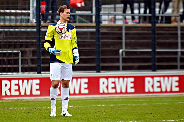 Wird in Mainz zum Einsatz kommen: FC-Ersatztorwart Thomas Kessler Foto: imago/foto2press
