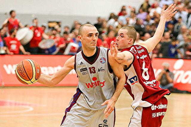 Die BBL ist derzeit kein Thema für Marin Petric und die RheinStars Köln Foto: imago/Beautiful Sports