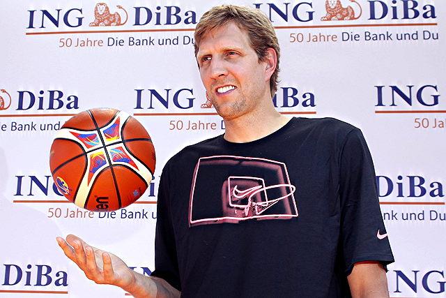 Spielt die Heim-EM – und ein Vorbereitungsspiel in Köln: NBA-Star Dirk Nowitzki Foto: imago/FAF